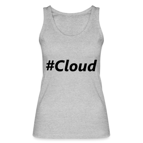 #Cloud black - Frauen Bio Tank Top von Stanley & Stella