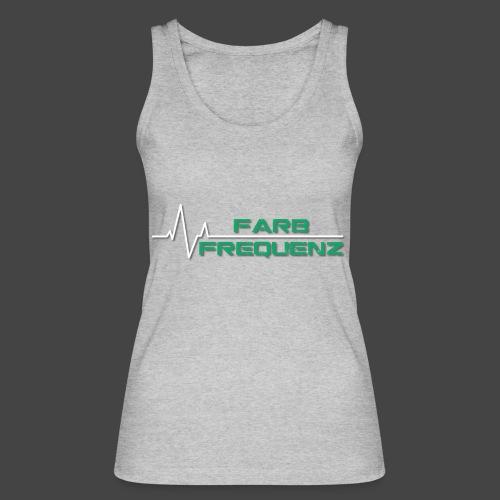 FarbFrequenz - Logo - Frauen Bio Tank Top von Stanley & Stella
