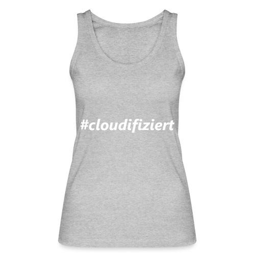 #Cloudifiziert white - Frauen Bio Tank Top von Stanley & Stella