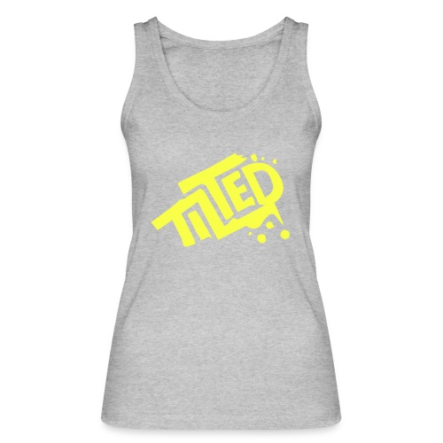 Fortnite Tilted (Yellow Logo) - Women's Organic Tank Top by Stanley & Stella