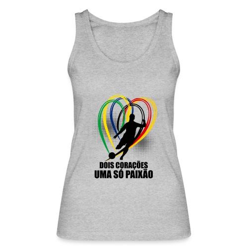 Fußball-Shirt Brasilien - Deutschland - Frauen Bio Tank Top von Stanley & Stella