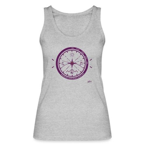 AWEN // adventure compass - Women's Organic Tank Top by Stanley & Stella