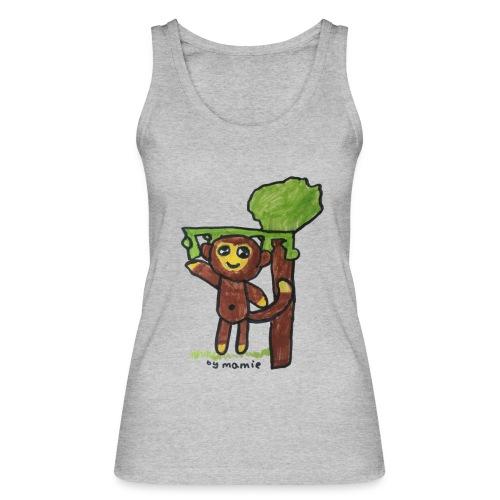 monkeywhite - Women's Organic Tank Top by Stanley & Stella