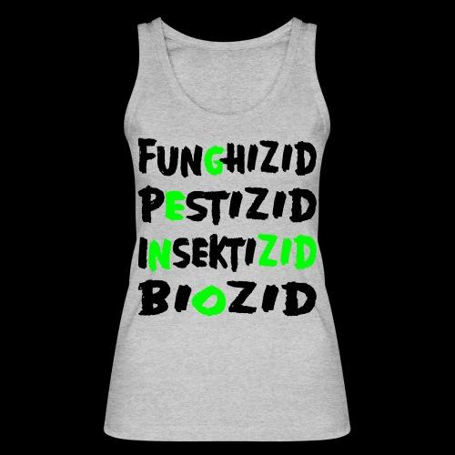 genozid - Frauen Bio Tank Top von Stanley & Stella