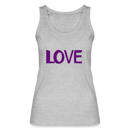love 1 - Camiseta de tirantes ecológica mujer de Stanley & Stella