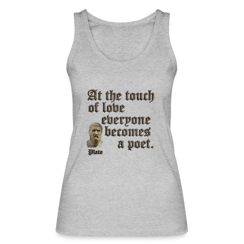At the touch of love - Women's Organic Tank Top by Stanley & Stella