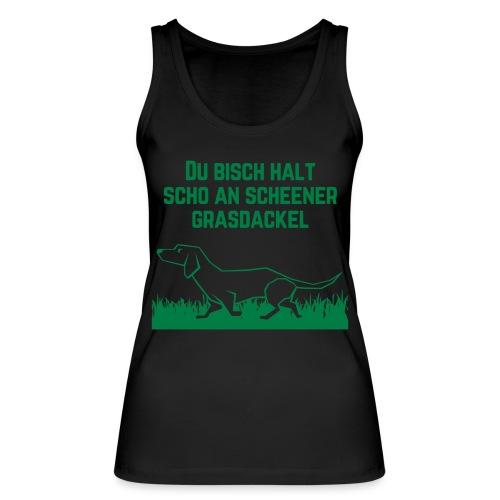 Grasdackel - Frauen Bio Tank Top von Stanley & Stella