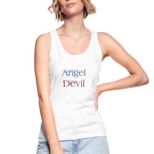 Angelo o Diavolo? - Top ecologico da donna di Stanley & Stella