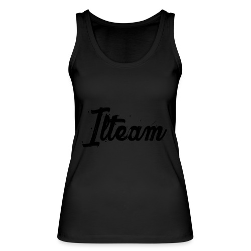 Ilteam Black and White - Débardeur bio Femme