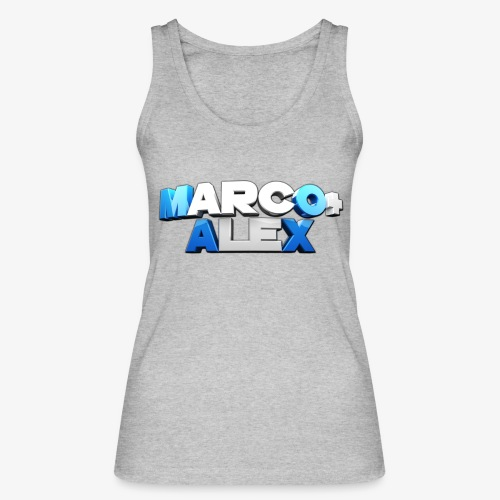 Logo Marco+Alex - Top ecologico da donna di Stanley & Stella