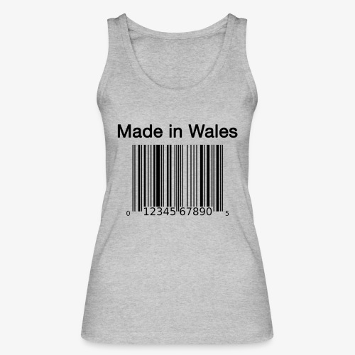 Made in Wales - Women's Organic Tank Top by Stanley & Stella