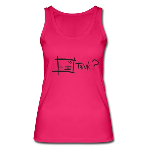Think Outside The Box - Women's Organic Tank Top by Stanley & Stella