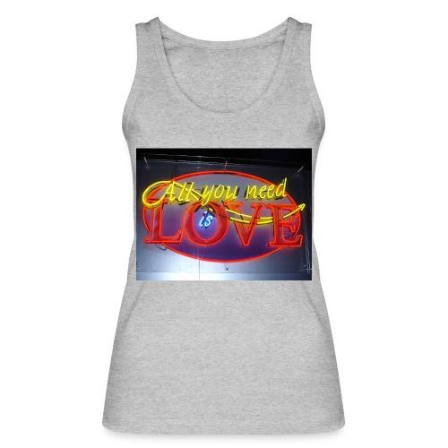 Love - Women's Organic Tank Top by Stanley & Stella