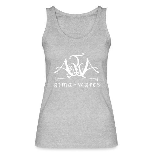 atma wares logo white - Vrouwen bio tanktop van Stanley & Stella