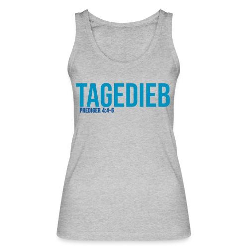TAGEDIEB - Print in blau - Frauen Bio Tank Top von Stanley & Stella