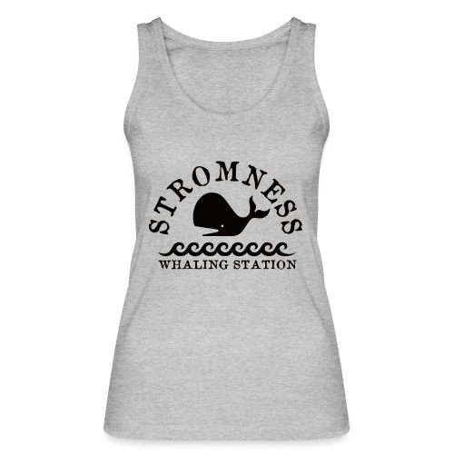 Sromness Whaling Station - Women's Organic Tank Top by Stanley & Stella