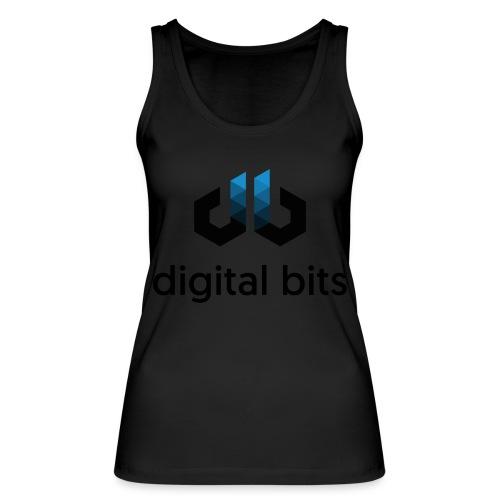 digitalbits Logo mit Schriftzug - Frauen Bio Tank Top von Stanley & Stella