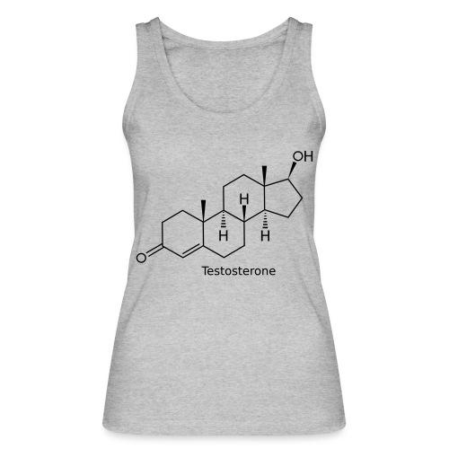 Testosterone - Bodybuilding, Crossfit, Fitness - Frauen Bio Tank Top von Stanley & Stella