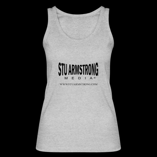 Stu Armstrong Media Black Logo - Women's Organic Tank Top by Stanley & Stella