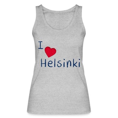I Love Helsinki - Stanley & Stellan naisten luomutanktoppi