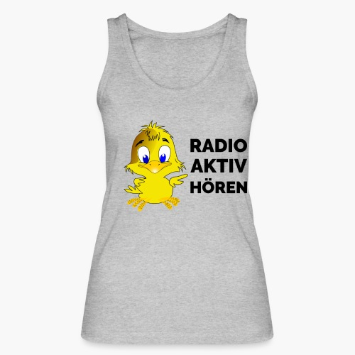Radio Aktiv hören - Frauen Bio Tank Top von Stanley & Stella