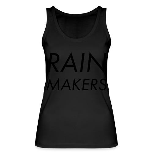 rainmakertext - Stanley & Stellan naisten luomutanktoppi