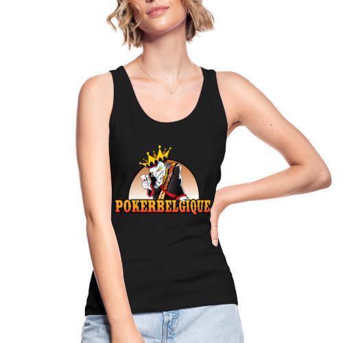 Logo Poker Belgique - Débardeur bio Femme