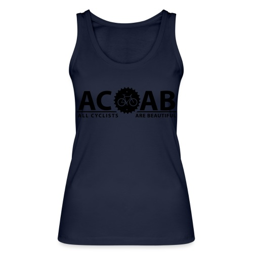 ACAB ALL CYCLISTS - Frauen Bio Tank Top von Stanley & Stella