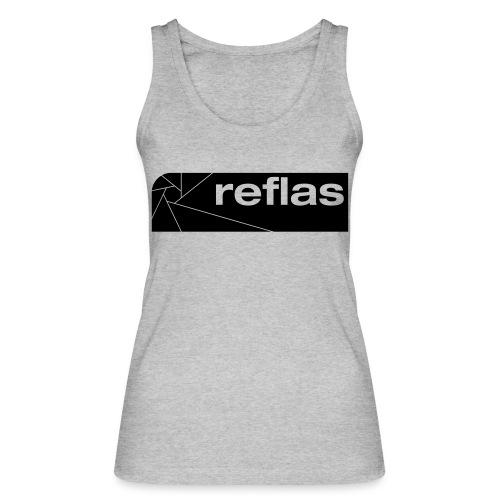 Reflas Clothing Black/Gray - Top ecologico da donna di Stanley & Stella