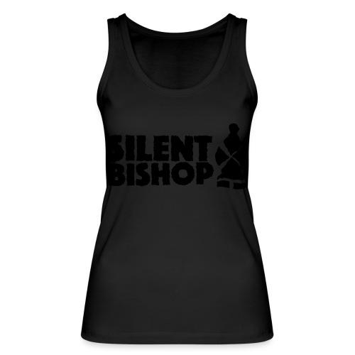 Silent Bishop Logo Groot - Vrouwen bio tanktop van Stanley & Stella