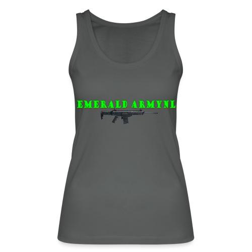 EMERALDARMYNL LETTERS! - Vrouwen bio tanktop van Stanley & Stella