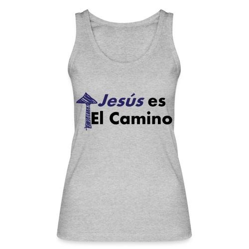 jesus el camino - Camiseta de tirantes ecológica mujer de Stanley & Stella