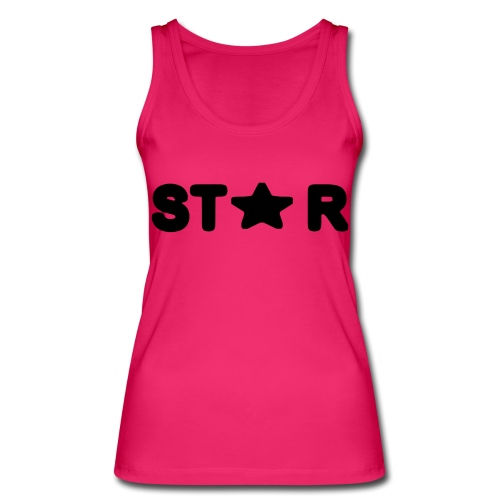 i see a star - Women's Organic Tank Top by Stanley & Stella