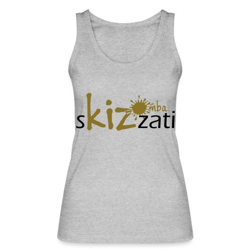 Beanie in jersey con logo sKizzati Kizomba - Verde - Top ecologico da donna di Stanley & Stella