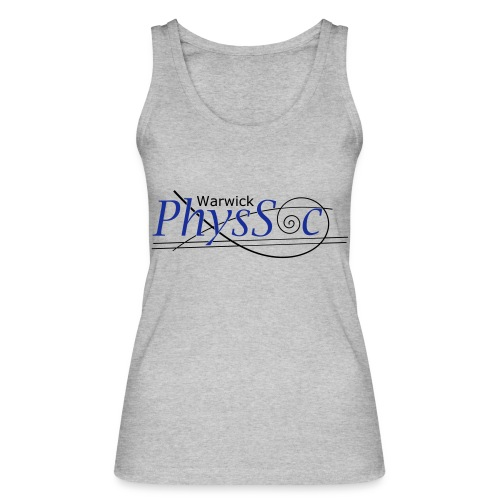 Official Warwick PhysSoc T Shirt - Women's Organic Tank Top by Stanley & Stella