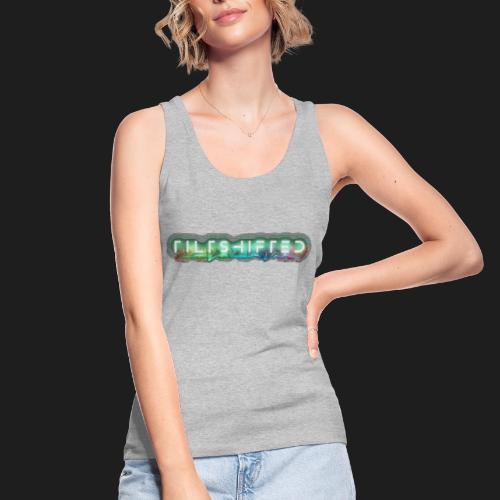 TiltShifted Logo on Black - Stanley & Stellan naisten luomutanktoppi