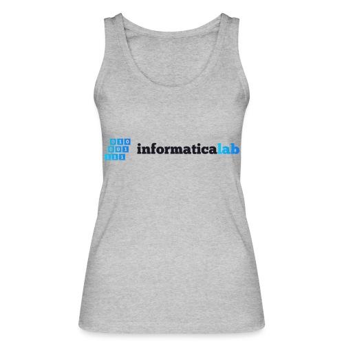 InformaticaLab logo for white background - Top ecologico da donna di Stanley & Stella
