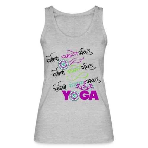 Sanskrit Yoga - Women's Organic Tank Top by Stanley & Stella