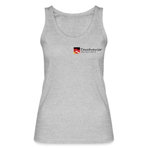 Tauchrevier Deutschland Logo classic schwarz - Frauen Bio Tank Top von Stanley & Stella