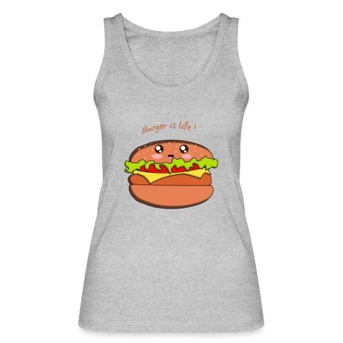 hamburger - Débardeur bio Femme