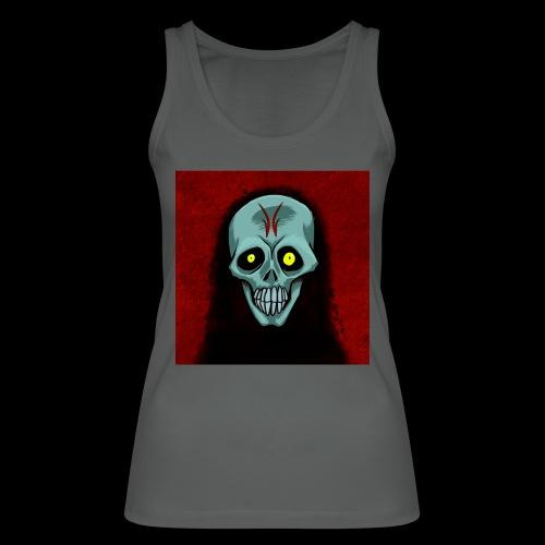 Ghost skull - Women's Organic Tank Top by Stanley & Stella