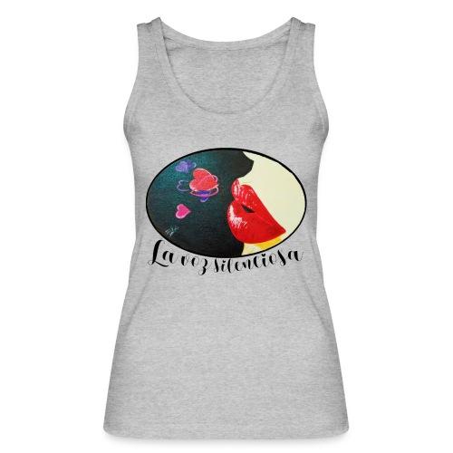 La Voz Silenciosa - Besos - Camiseta de tirantes ecológica mujer de Stanley & Stella