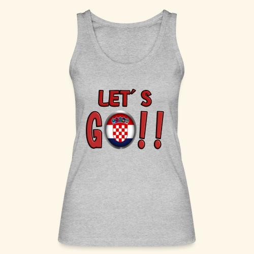 Go Croatia - Top ecologico da donna di Stanley & Stella