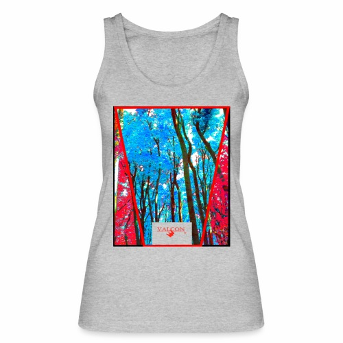 Natur Wald Forest Bäume - Frauen Bio Tank Top von Stanley & Stella