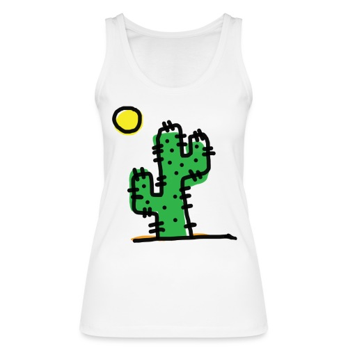 Cactus single - Top ecologico da donna di Stanley & Stella
