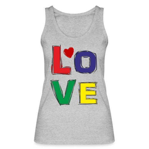LOVE - Frauen Bio Tank Top von Stanley & Stella