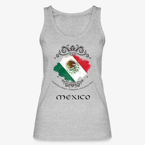 Mexico Vintage Bandera - Frauen Bio Tank Top von Stanley & Stella