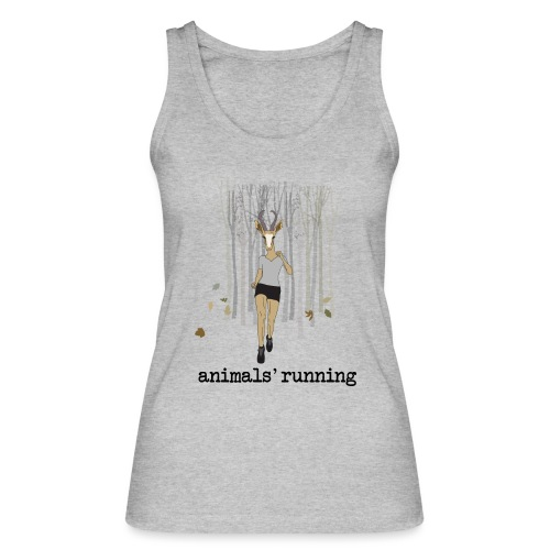 Antilope running - Débardeur bio Femme