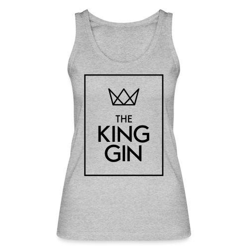 The King Gin Logo schwarz RGB Rahmen - Frauen Bio Tank Top von Stanley & Stella