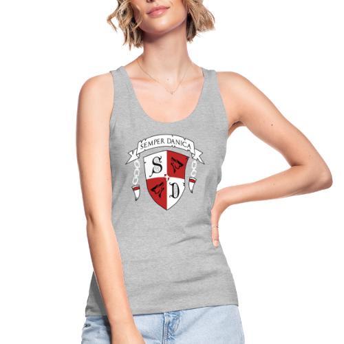 SD logo - hvide lænker - Økologisk Stanley & Stella tanktop til damer
